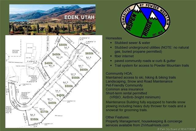 6153 N Aspen Ridge Road, Eden, UT 84310 (MLS #11900110) :: High Country Properties