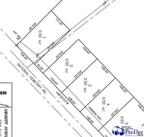 0 National Cemetery Lot 4, Florence, SC 29501 (MLS #20193479) :: RE/MAX Professionals