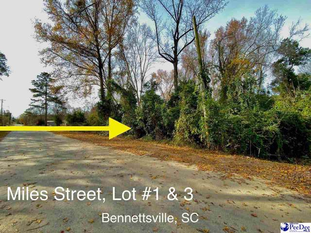 TBD Miles Street, Bennettsville, SC 29512 (MLS #20194259) :: RE/MAX Professionals