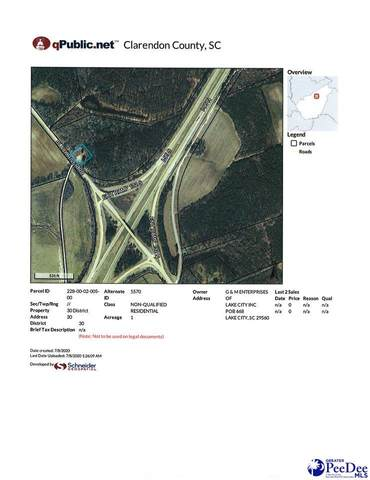 Black River Rd, Alcolu, SC 29001 (MLS #20202180) :: Crosson and Co