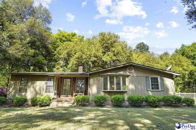 554 Crowley Hill Rd, Society Hill, SC 29593 (MLS #20211225) :: Crosson and Co