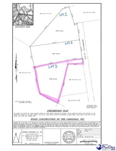 LOT 3 Heathwood Drive, Darlington, SC 29532 (MLS #20211546) :: Crosson and Co
