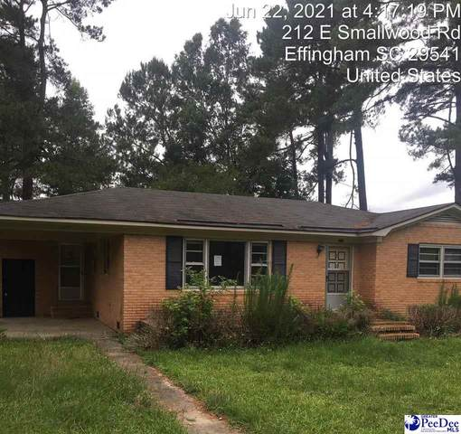 212 E Smallwood Rd, Effingham, SC 29541 (MLS #20212242) :: Crosson and Co