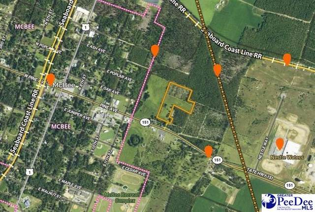Off Hwy 151, Mcbee, SC 29101 (MLS #20212830) :: Crosson and Co