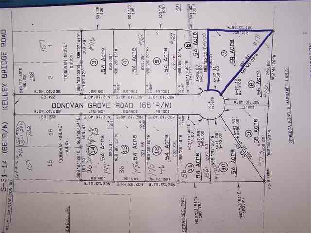 Lot 7 Donovan Grove Road, Bishopville, SC 29010 (MLS #109966) :: RE/MAX Professionals