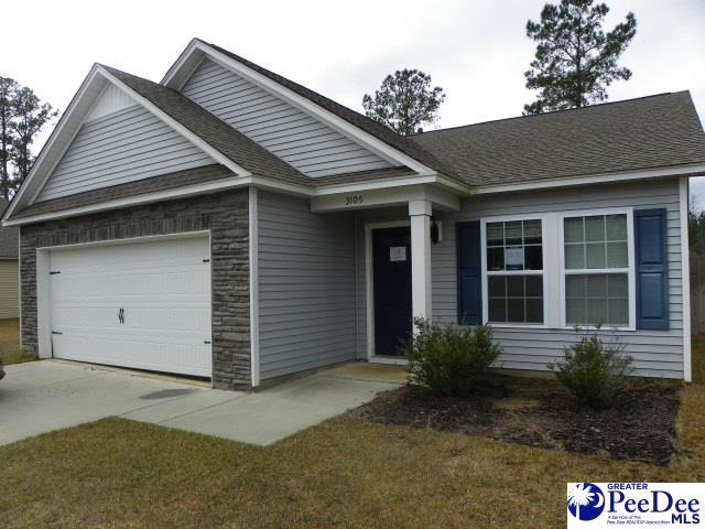 3105 Longfellow Dr, Florence, SC 29505 (MLS #20190978) :: RE/MAX Professionals