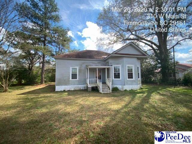 310 Main St, Timmonsville, SC 29161 (MLS #20201462) :: RE/MAX Professionals