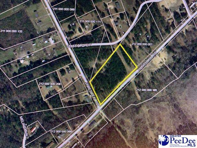 3.55 +/- Hunts Mill Road, Chesterfield, SC 29709 (MLS #20202762) :: Coldwell Banker McMillan and Associates