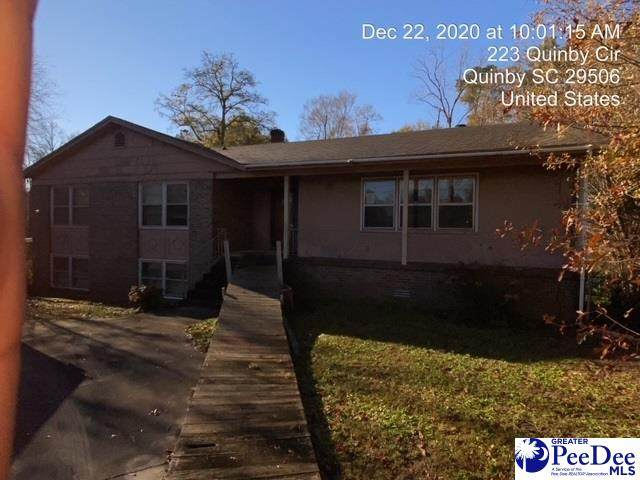 223 Quinby Circle, Quniby, SC 29506 (MLS #20204018) :: Crosson and Co