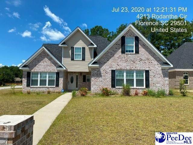 4213 Rodanthe Circle, Florence, SC 29501 (MLS #20210503) :: Crosson and Co
