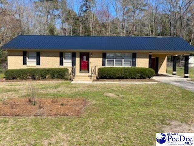 400 Forest Drive, Society Hill, SC 29593 (MLS #20210803) :: Crosson and Co