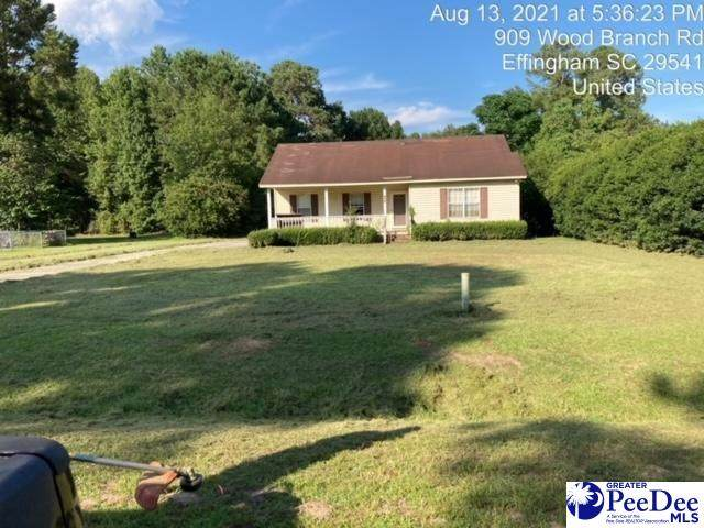 909 Wood Branch Rd., Effingham, SC 29541 (MLS #20213286) :: Crosson and Co
