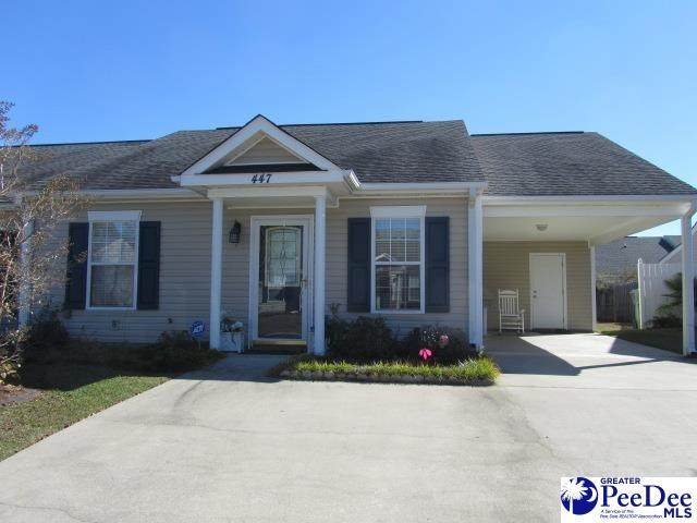 447 Londonberry Drive, Florence, SC 29501 (MLS #20213747) :: Crosson and Co