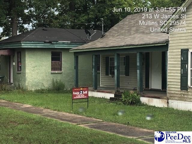 207 W James Street, Mullins, SC 29574 (MLS #20191969) :: RE/MAX Professionals