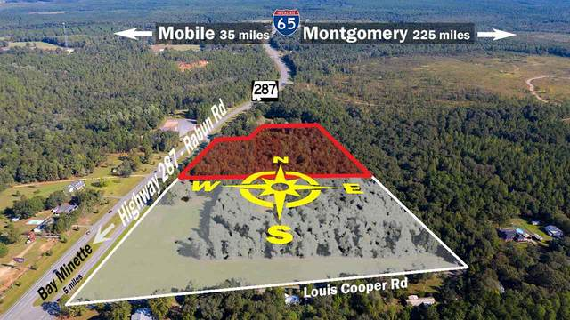 1 Hwy 287, Bay Minette, AL 36507 (MLS #472394) :: Connell & Company Realty, Inc.