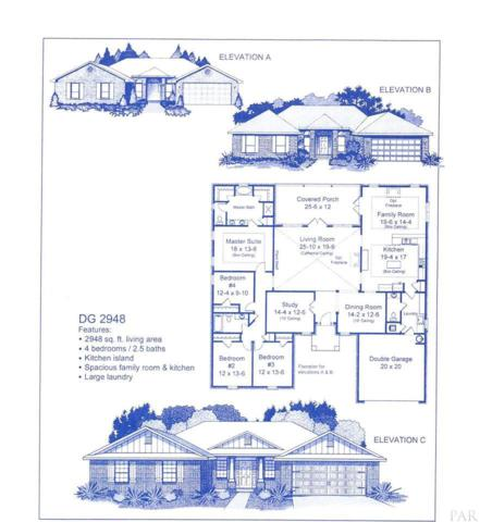 1600 Tate Rd, Cantonment, FL 32533 (MLS #532528) :: Levin Rinke Realty