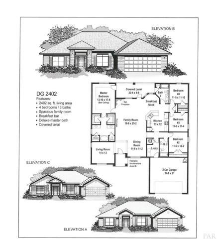 913 Jacobs Way, Cantonment, FL 32533 (MLS #538006) :: ResortQuest Real Estate