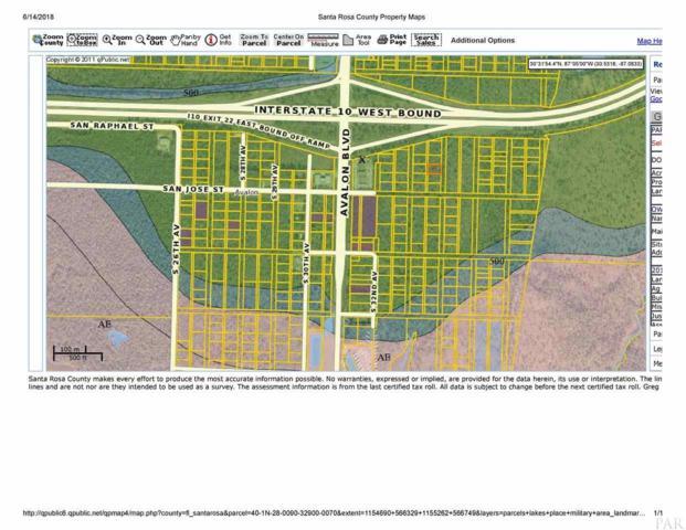 Lot 7 block 329 S 34TH AVE, Milton, FL 32583 (MLS #539627) :: ResortQuest Real Estate