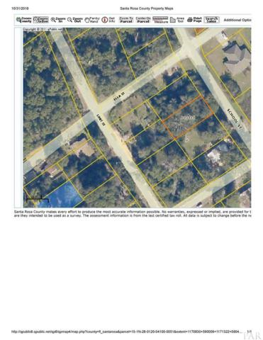 LOT 51 400 BLK School St, Bagdad, FL 32583 (MLS #544574) :: Coldwell Banker Coastal Realty