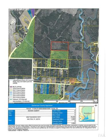 Bucket Creek Rd, Milton, FL 32570 (MLS #545558) :: ResortQuest Real Estate