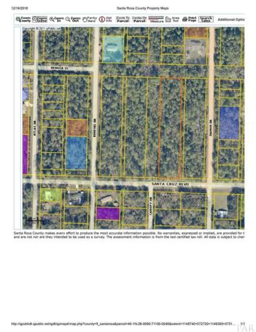 Lt1-23 BLK 711 Santa Cruz Blvd, Milton, FL 32583 (MLS #546685) :: Levin Rinke Realty
