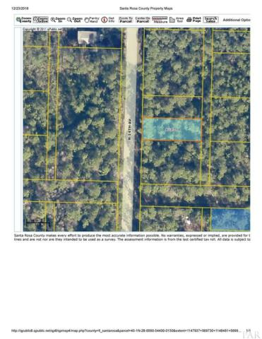 LOT 15 BLK 544 14TH AVE, Milton, FL 32583 (MLS #546709) :: ResortQuest Real Estate