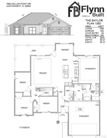 1556 Hollow Point Dr, Cantonment, FL 32533 (MLS #547680) :: Levin Rinke Realty