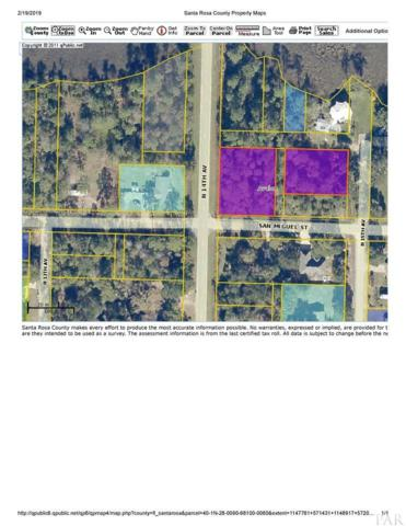 lot6-10BLK681 San Miguel St, Milton, FL 32583 (MLS #549204) :: ResortQuest Real Estate