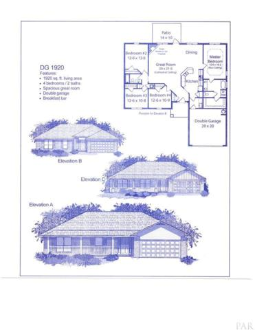 4831 Legacy St, Milton, FL 32570 (MLS #550762) :: ResortQuest Real Estate