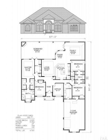 5768 Highland Lake Dr, Milton, FL 32583 (MLS #556743) :: ResortQuest Real Estate