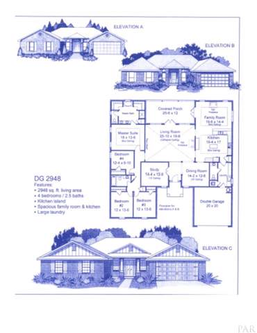 5636 W Spencer Field Rd, Pace, FL 32571 (MLS #560813) :: Connell & Company Realty, Inc.