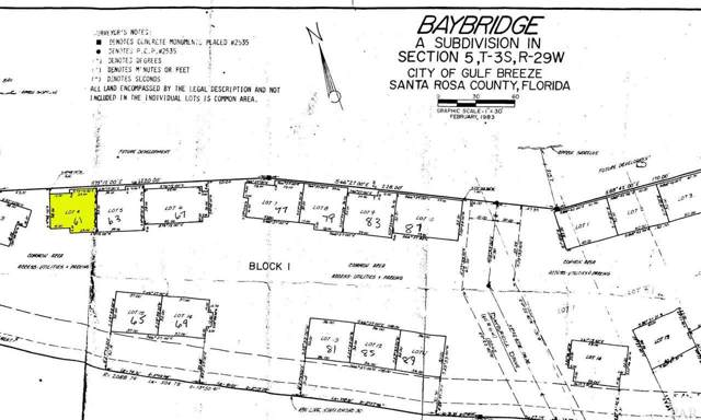 61 Baybridge Dr, Gulf Breeze, FL 32561 (MLS #564310) :: Levin Rinke Realty