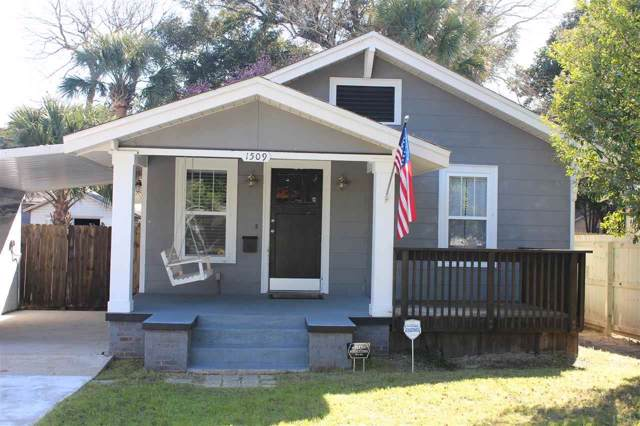 1509 E Gonzalez St, Pensacola, FL 32501 (MLS #566681) :: The Kathy Justice Team - Better Homes and Gardens Real Estate Main Street Properties