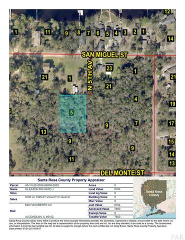 lot5 blk 666 N 5TH AVE, Milton, FL 32583 (MLS #576235) :: Coldwell Banker Coastal Realty