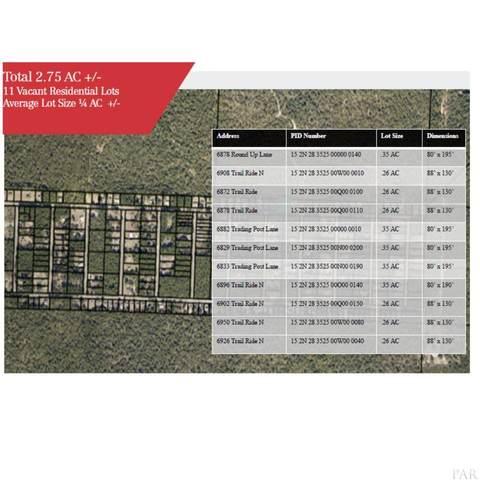 6878 Roundup Ln, Milton, FL 32570 (MLS #577764) :: Levin Rinke Realty