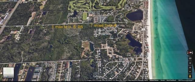 Lot 19 Tiburon Cir, Santa Rosa Beach, FL 32459 (MLS #578083) :: Connell & Company Realty, Inc.