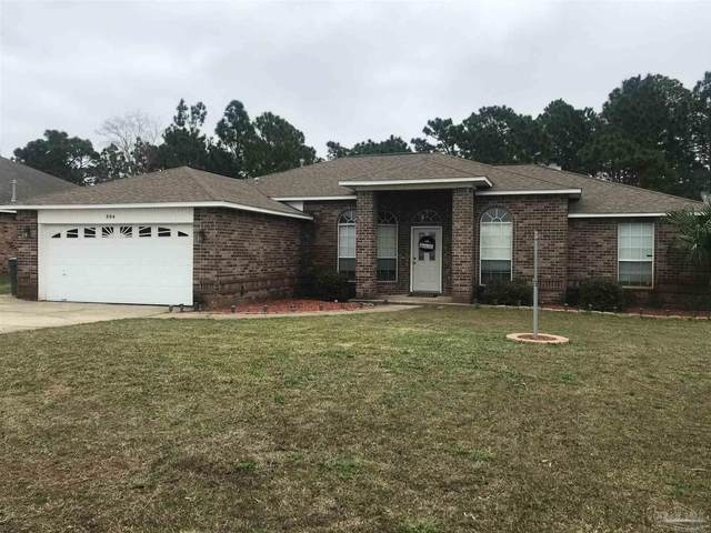 804 Ebb Tide Dr, Pensacola, FL 32507 (MLS #583673) :: The Kathy Justice Team - Better Homes and Gardens Real Estate Main Street Properties