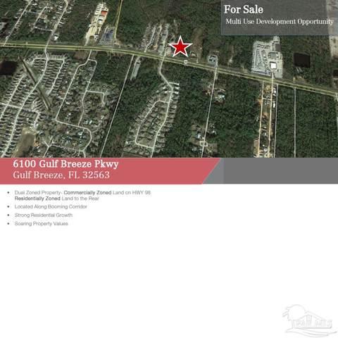 6100 Gulf Breeze Pkwy, Gulf Breeze, FL 32563 (MLS #584003) :: Connell & Company Realty, Inc.