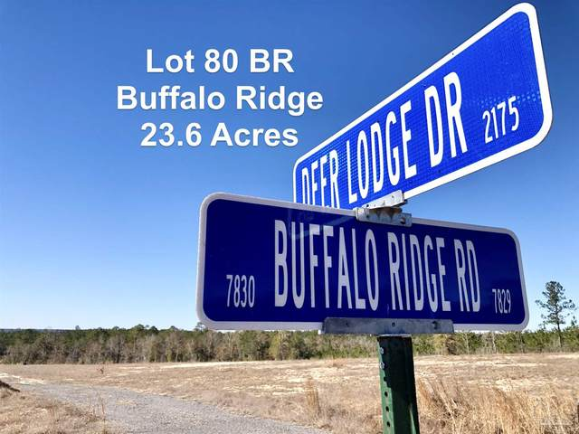 Lot 80 BR Deer Lodge Dr, Pace, FL 32571 (MLS #584654) :: Crye-Leike Gulf Coast Real Estate & Vacation Rentals