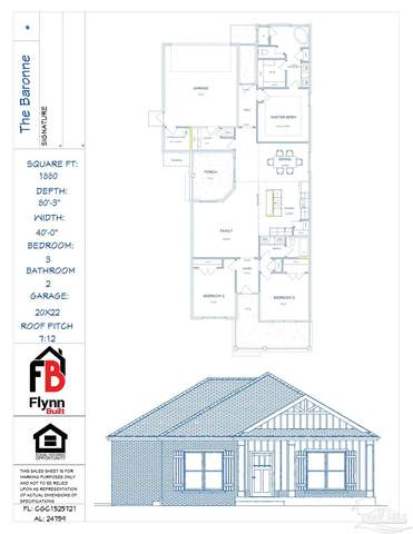 8949 Eureka Ln, Milton, FL 32583 (MLS #587977) :: Connell & Company Realty, Inc.