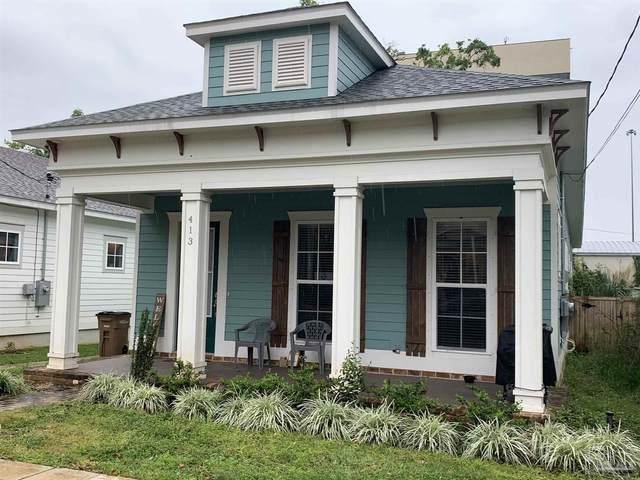 413 E Belmont St, Pensacola, FL 32501 (MLS #588039) :: Vacasa Real Estate