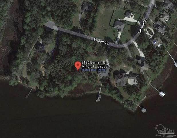 3136 Bernath Dr, Milton, FL 32583 (MLS #588452) :: Coldwell Banker Coastal Realty