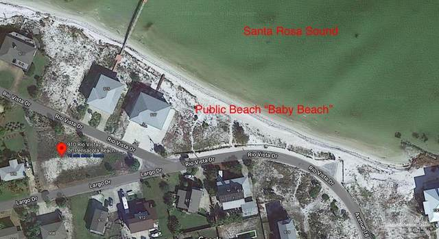 910 Rio Vista Dr, Pensacola Beach, FL 32561 (MLS #588617) :: Levin Rinke Realty