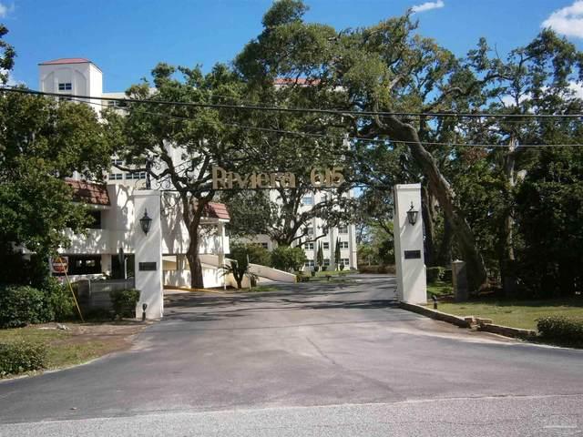 615 Bayshore Dr #803, Pensacola, FL 32507 (MLS #589352) :: Coldwell Banker Coastal Realty