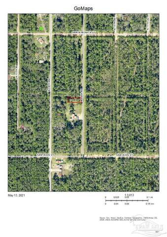 Lot 1&2 Blk 457 15th Ave, Milton, FL 32570 (MLS #589666) :: Levin Rinke Realty