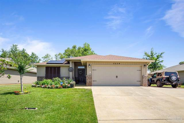 5534 Peach Dr, Pace, FL 32571 (MLS #590163) :: Connell & Company Realty, Inc.