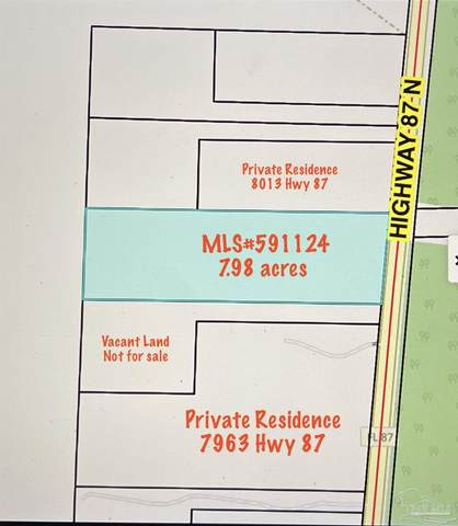 7.98 Acres Hwy 87, Milton, FL 32570 (MLS #591124) :: Connell & Company Realty, Inc.