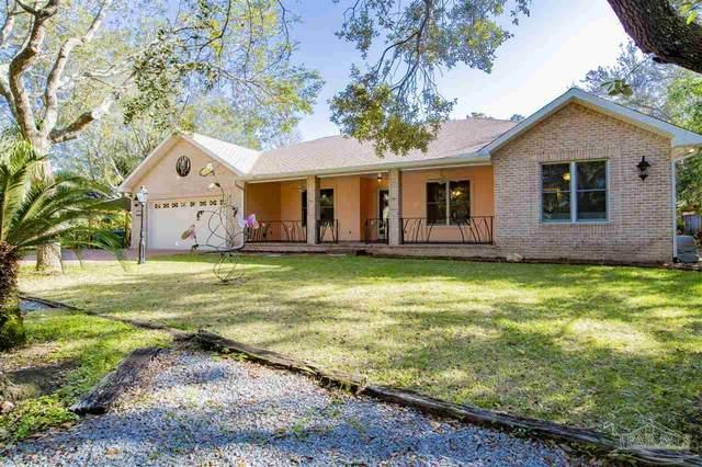 2387 W Bayshore Rd, Gulf Breeze, FL 32563 (MLS #591608) :: Coldwell Banker Coastal Realty
