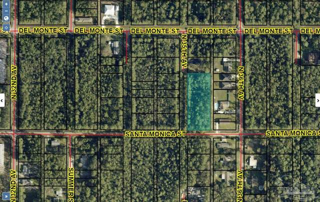 594 Blk 35th Ave Lots 13, 14, 15, Milton, FL 32583 (MLS #593926) :: Coldwell Banker Coastal Realty