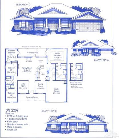 5746 Burr St, Milton, FL 32570 (MLS #593943) :: Coldwell Banker Coastal Realty